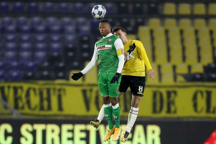 De spelers van NAC hopen op 29 januari eindelijk weer eens gezichten te zien op de tribunes in plaats van lege stoelen.