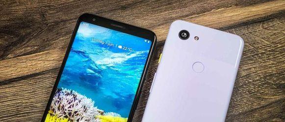 De Google Pixel 3a XL.