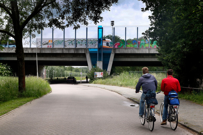 Een ander viaduct in Gorinchem, foto ter illustratie.