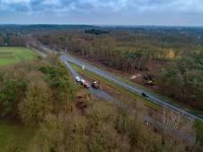 Bomen en parkeerplaatsen langs N48 wijken voor fietstunnel naar Ommen en extra rijstroken