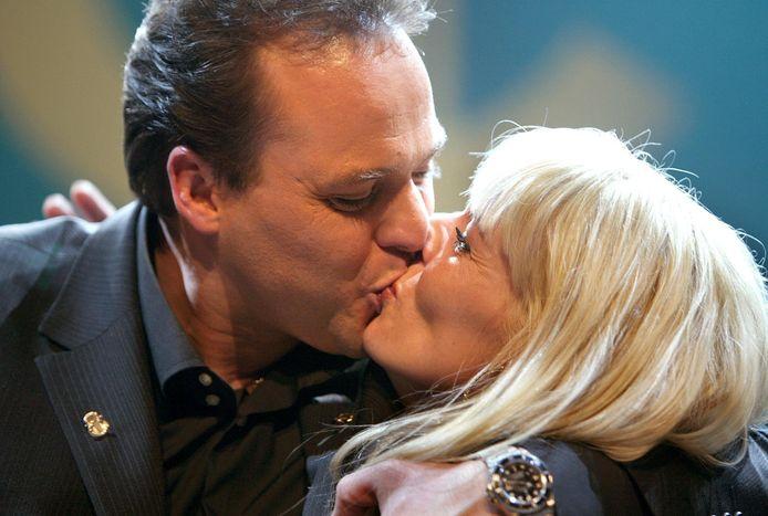 Frans en Mariska Bauer, al heel lang een stel en sinds 2008 getrouwd.