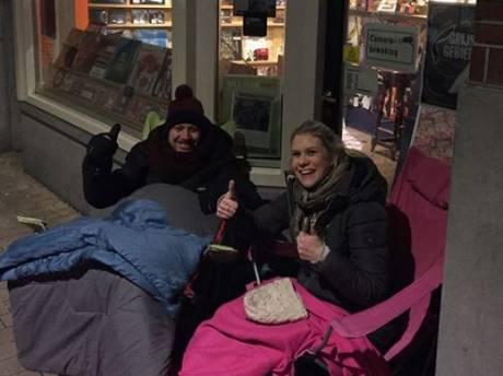 Platenzaak Sounds omarmt idiote helden: de hele nacht in Tilburg kou lijden voor een Pinkpopkaartje