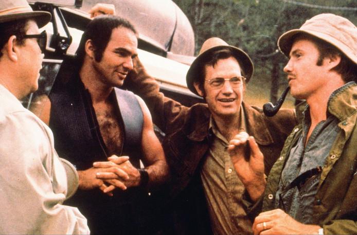 Reynolds met John Voight op de set van Deliverance, in 1972.