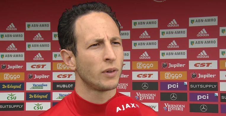 Ajax-trainer Benno Nihom Beeld Ajax TV