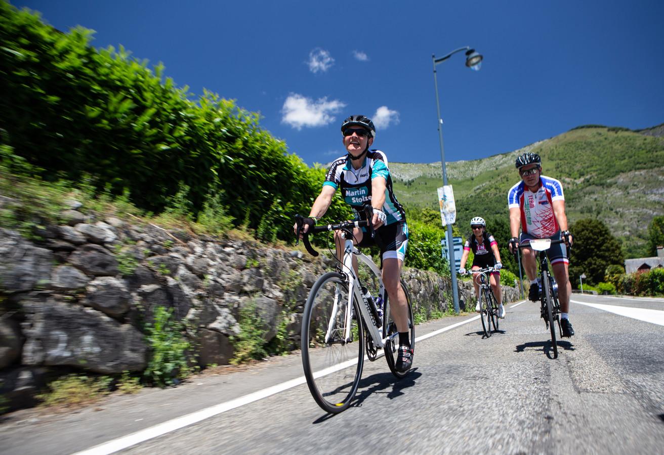 Team Westland bij de Tourmalet, ter illustratie.