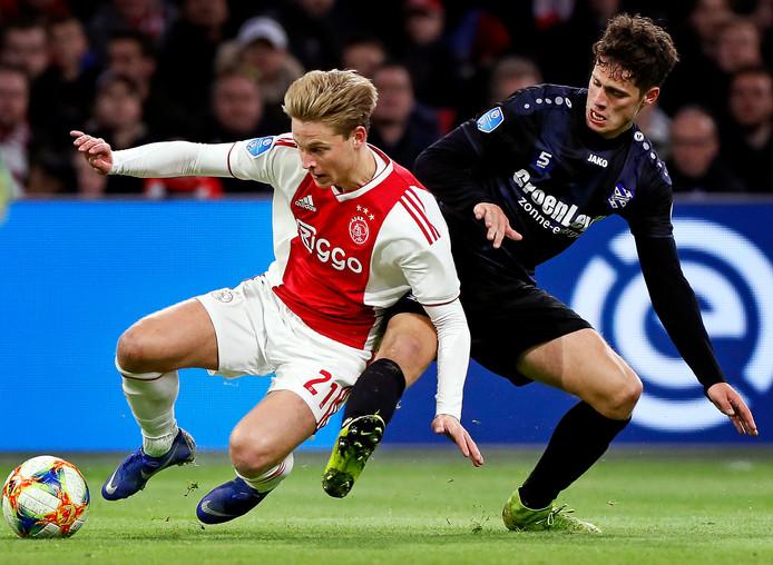 Kik Pierie maakte vorig seizoen de 4-4 namens Heerenveen tegen Ajax.