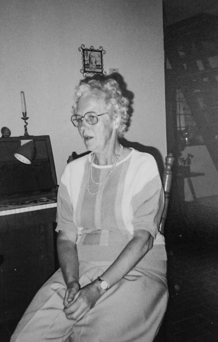 Mien Jesse hielp haar vader in de oorlog Het Parool te drukken. Beeld