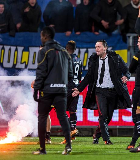 Willem II en NAC op het matje bij KNVB na vuurwerkincident