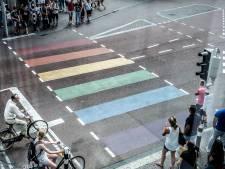 Nieuwegein wil regenboog zebrapad of -trap in centrumgebied