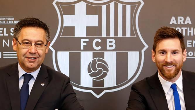 """""""Bartomeu stapt op als voorzitter van Barcelona als Messi openlijk zegt dat hij het probleem is"""""""