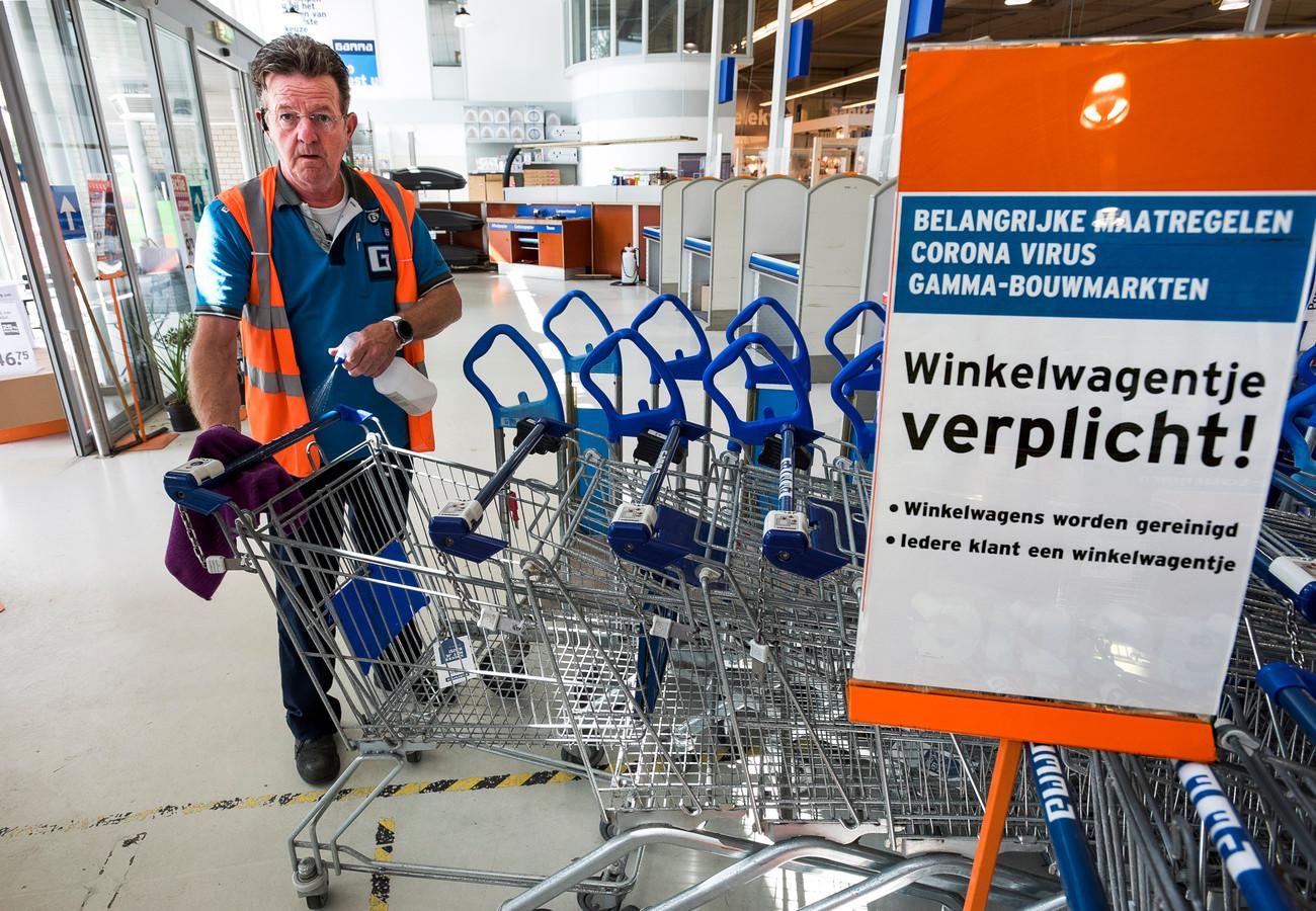 """Gamma-bedrijfsleider Jan Bikkers: ,,Ik heb mijn nek uitgestoken."""""""