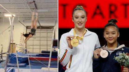 Stevige concurrentie voor Derwael: Amerikaanse gymnaste pakt uit met nooit eerder vertoond element op brugoefening