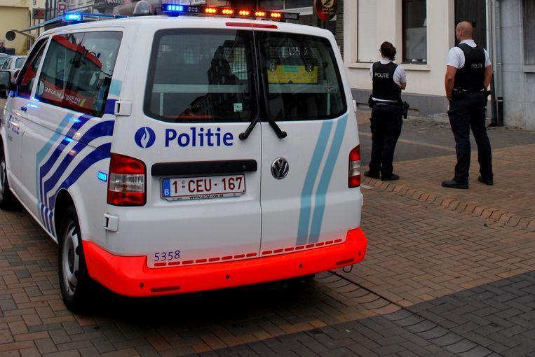 Politie kwam ter plaatse