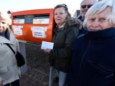 Bewoners Harmelen willen brievenbus niet kwijt