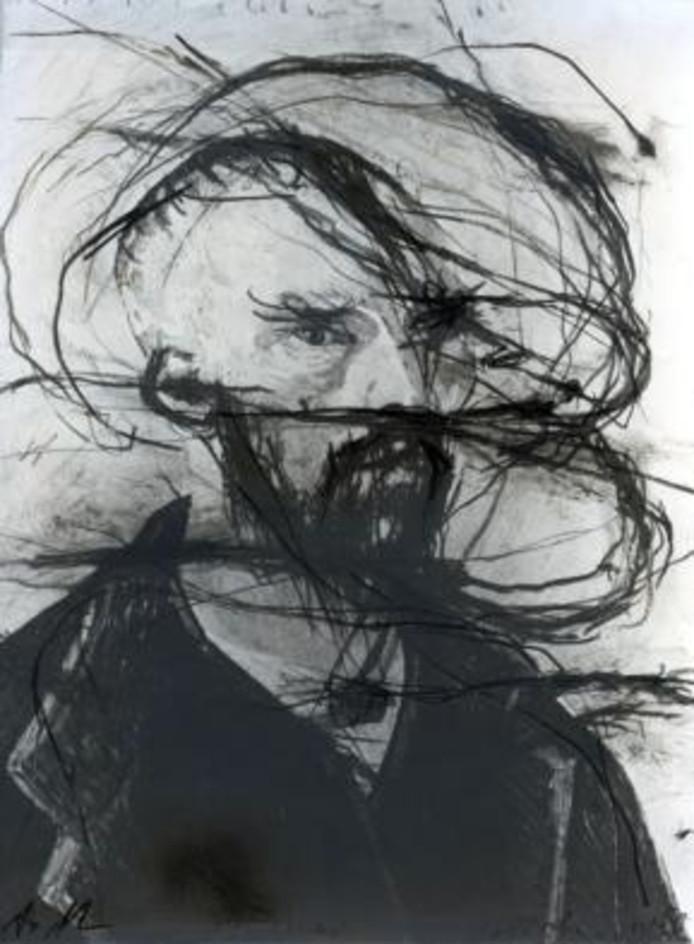 Van Gogh in Wolke, 1977. collectie Vincent van GoghHuis