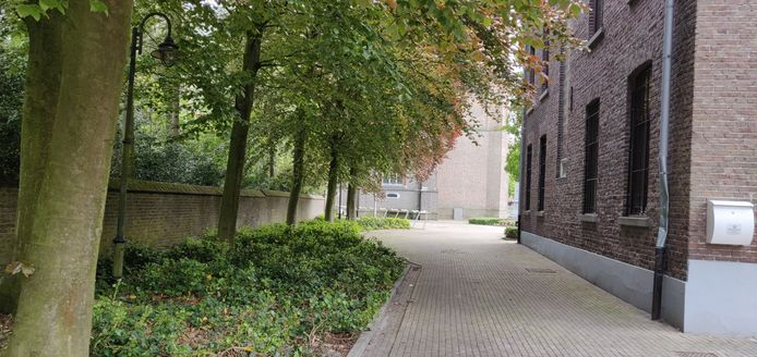 De tuin is ideaal gelegen aan het oud gemeentehuis, tussen dorpsplein, kerk, school en het toekomstig woon-zorgcentrum Teutenhof.