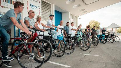 Personeel Ontex kiest massaal voor fiets