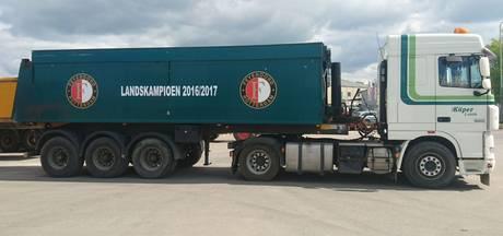 Transportbedrijf kent geen twijfel: Feyenoord wordt kampioen