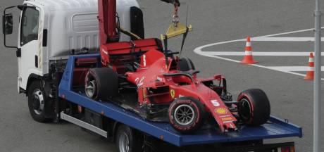 Vettel na crash in kwalificatie: 'Nam blijkbaar te veel risico'
