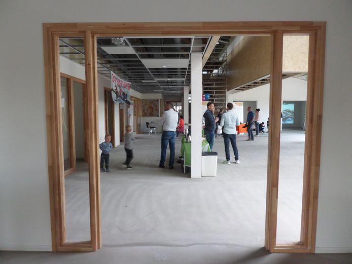 Een inkijkje in de nieuwe brede school De Parel