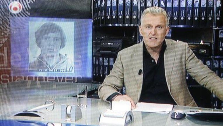 Screenshot van de TV-uitzending van Peter R. de Vries. ANP Beeld