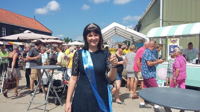 Nadien de Visser (29) is de nieuwe Zeeuwse Wijnkoningin