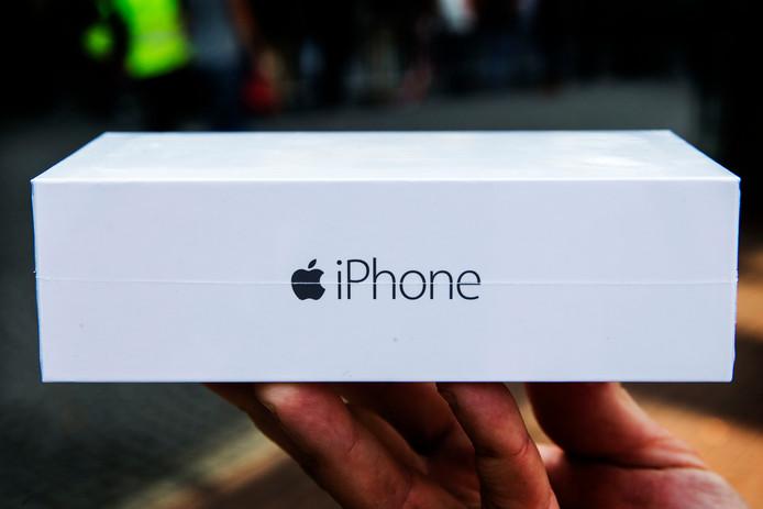 Ook de verpakking helpt mee aan het iPhone-gevoel.
