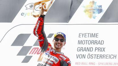 Spanjaard Jorge Lorenzo pakt zege in MotoGP van Oostenrijk