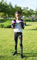 Kickbokster Amira Tahri.