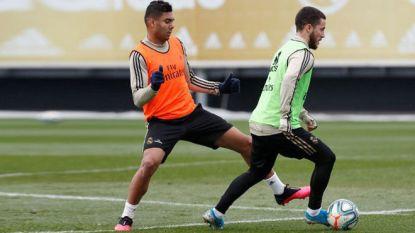 Madrileense derby komt nog te vroeg voor Hazard, Carrasco wel in selectie bij Atlético