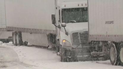 VIDEO. Ook de VS kreunt onder hevige sneeuwval