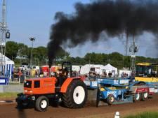 Geronk van tractoren klinkt door IJzendoorn