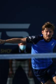 Deuxième victoire pour David Goffin dans l'Ultimate Tennis Showdown