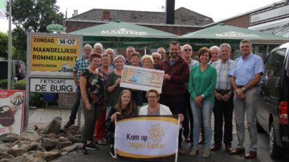 Pro schenkt 250 euro aan Kom op tegen Kanker