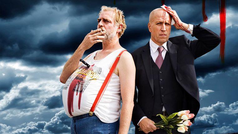 De internationale voorstelling over de moord op Pim Fortuyn en Theo van Gogh is voor het eerst in Nederland te zien Beeld De Krakeling