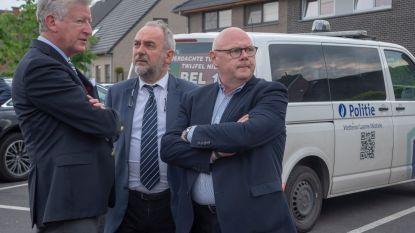 Minister De Crem bezoekt grootschalige Oost-Vlaamse politieoperatie Goliath in Wetteren : 24 personen betrapt met drugs