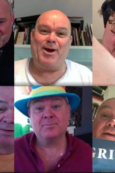 Paul de Leeuw vermaakt anderen en zichzelf met dagelijkse 'houtje-touwtje-tv'