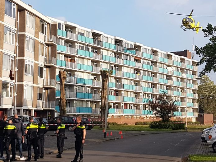 De trauma landde na de steekpartij aan de Klaverweide, waar de verdachte woont.
