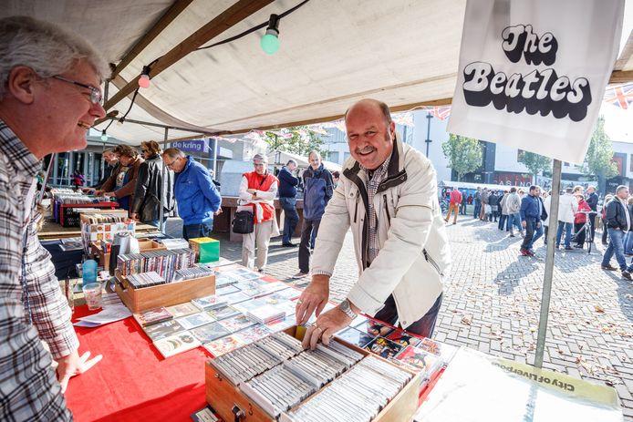 De Beatlesmarkt in Roosendaal.