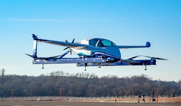 Elektrische luchttaxi's bestormen het luchtruim