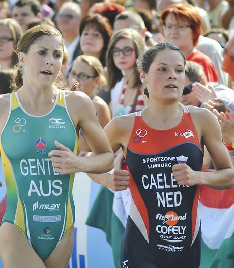 Triatlete Caelers derde bij wereldbeker in Hongarije
