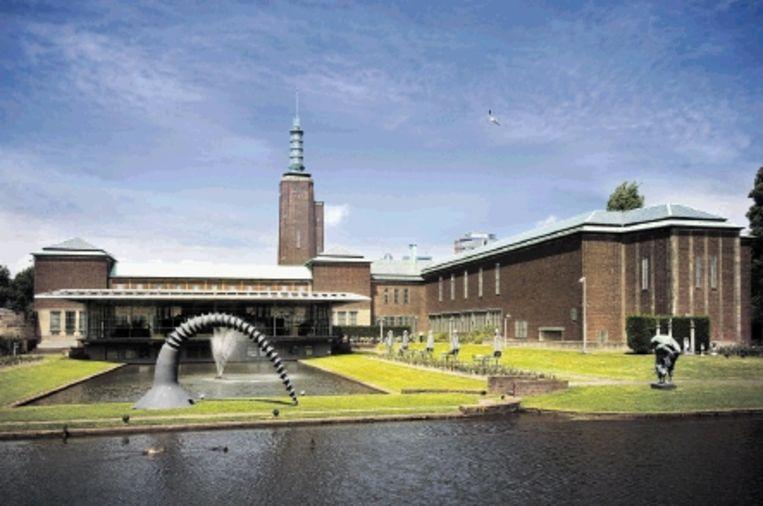 Museum Boijmans Van Beuningen ? midden in Rotterdam én prachtig in het groen gelegen. (FOTO BOIJMANS) Beeld