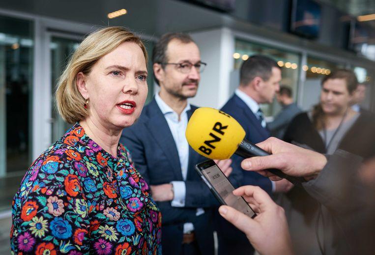 De Nederlandse Minister van Infrastructuur en Waterstaat Cora van Nieuwenhuizen.