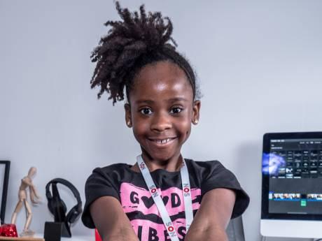 Razende reporter Rómeycia (9) uit Zoetermeer wint jeugdjournaalwedstrijd, maar wil liever zangeres worden