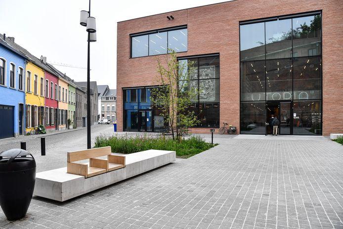 Bibliotheek Utopia in Aalst.