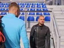 Wesley Sneijder aanwezig op training Oranje