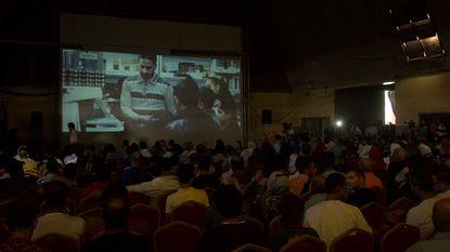 Voor het eerst in dertig jaar kunnen inwoners Gaza naar de bioscoop
