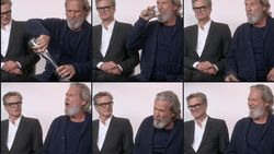 Nooit meer jenever voor Colin Firth en Jeff Bridges