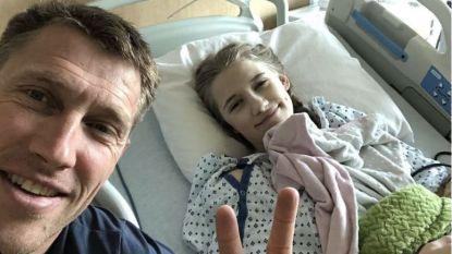 """Dochter (14) van Axel Merckx moet 2 jaar chemo ondergaan: """"Athina staat voor zwaarste opdracht"""""""