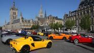 126 sportwagens kleuren de Lotus Day